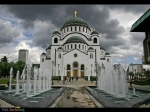 Sveti Sava orthodox temple in Belgrade